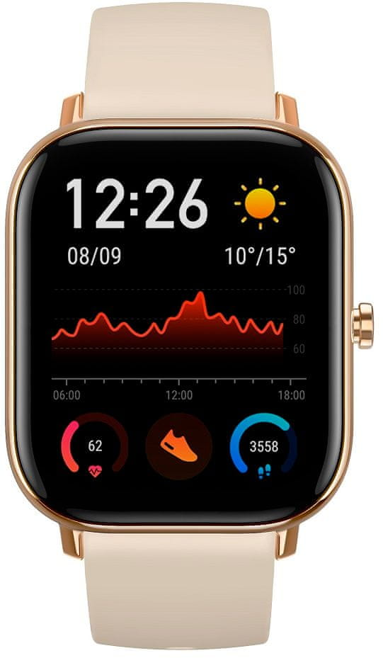 Xiaomi Amazfit GTS, Desert Gold - rozbaleno