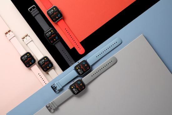 Amazfit smartwatch GTS, Rose Pink