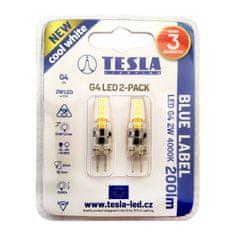 TESLA G4000240-PACK2 komplet 2 LED žarnic