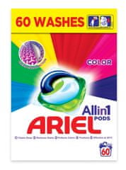 Ariel All in 1 Color gel kapsule, 60 kosov