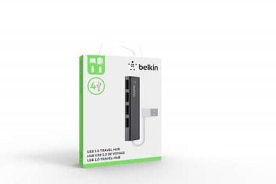 Belkin USB razdelilnik, 4 port (F4U042bt)