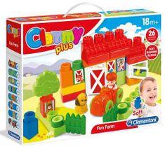 Clementoni Clemmy plus - Farma (26 kostek)