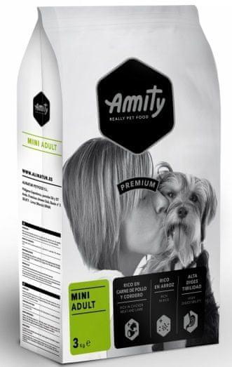 Amity Premium dog Adult Mini hrana za odrasle pse, 3 kg