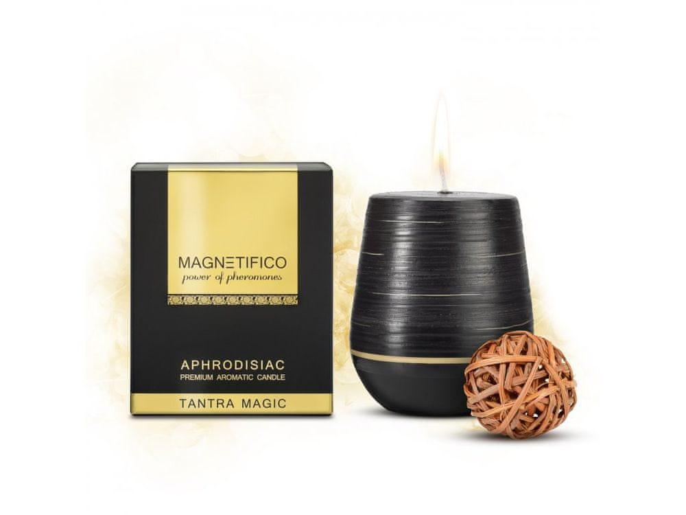 Valavani Afrodiziakální vonná svíčka Magnetifico Aphrodisiac Candle Tantra Magic - Valavani černá uni