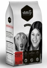 Amity hrana za pse Premium dog Chicken & Rice 3 kg