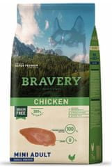 Bravery Dog ADULT MINI Grain Free chicken, 7 kg