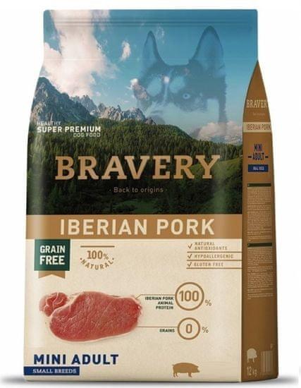 Bravery Dog ADULT MINI Grain Iberian Pork 7 kg