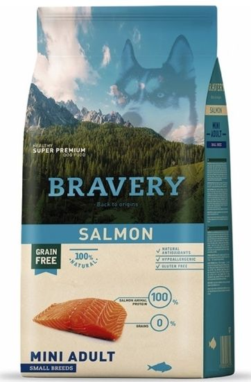 Bravery Dog ADULT MINI salmon 7 kg