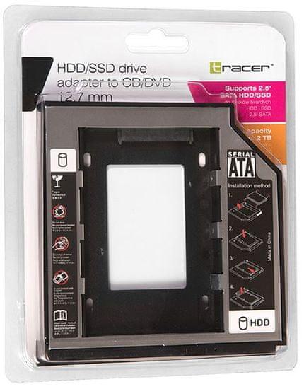 Tracer B-127 12,7mm nosilec za SSD diske