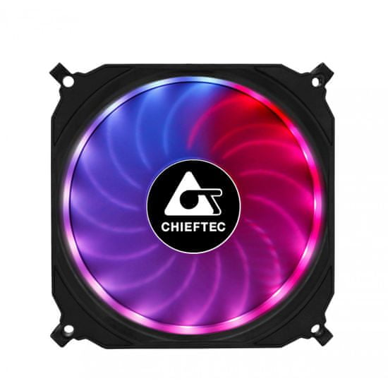 Chieftec CF-3012-RGB Tornado set RGB ventilatorjev (3x120mm)