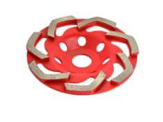 GEKO Diamantový kotouč na broušení betonu RED 125mmx5mm