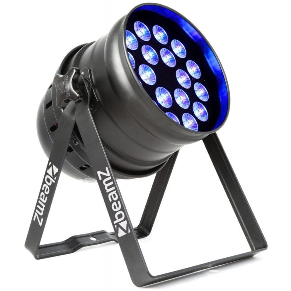 BeamZ LED PAR 64 reflektor 18x 6W RGBW, DMX