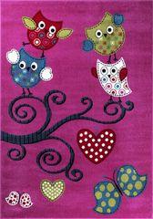 Ayyildiz Detský kusový koberec Kids 420 lila 80x150