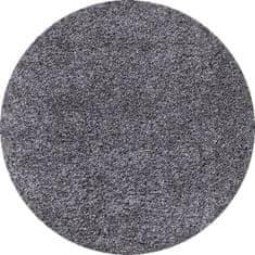 Ayyildiz Kusový koberec Dream Shaggy 4000 Grey kruh 120x120 (průměr) kruh