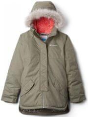 COLUMBIA kurtka dziewczęca Carson Pass 140 khaki