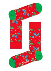 Happy Socks unisex ponožky Holly Sock HOL01-4300 41 - 46 červená