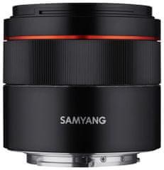 Samyang Samyang 45mm F1.8 AF pre Sony FE - rozbalené