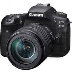 Canon EOS 90D + 18-135 IS USM fotoaparat + objektiv