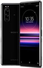 Sony Xperia 5 mobilni telefon, 6GB/128GB, črn - Odprta embalaža