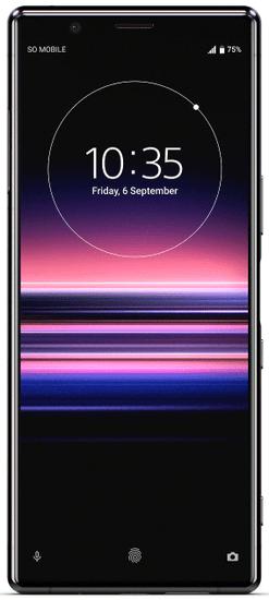 Sony Xperia 5 mobilni telefon, 6GB/128GB, črn