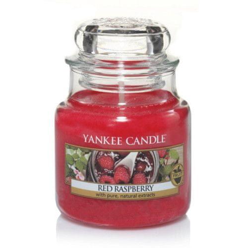 Yankee Candle Vonná svíčka Classic malá Červená malina (Red Raspberry) 104 g