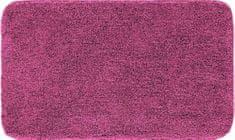 GRUND Česká koupelnová předložka, MELANGE 80x140 cm, tmavě fialová