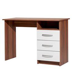 IDEA nábytok Písací stôl 60044 orech/biela