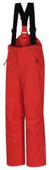 Hannah Akita Jr otroške smučarske hlače, rdeče, 140