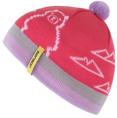 Sensor Bear dekliška kapa, roza