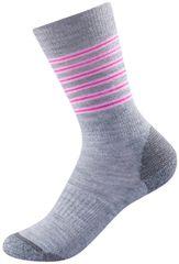 Devold Dětské ponožky Multi Medium 19 - 21 šedá/modrá