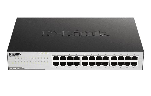 D-Link GO-SW-16G - 16-Port Gigabyte Easy Desktop Switch