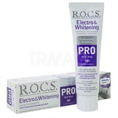 R.O.C.S. PRO zobna pasta, Electro & Whitening Mild Mint