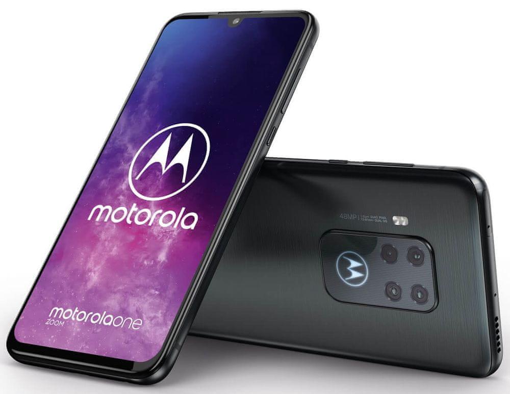 Motorola One Zoom, 4GB/128GB, Electric Grey