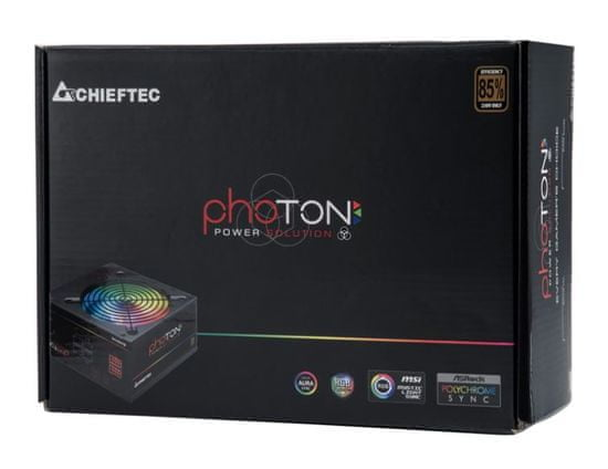 Chieftec CTG-750C-RGB napajalnik, photon series, RGB, 750W