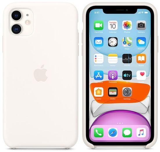 Apple iPhone 11 Silicone Case ovitek, White
