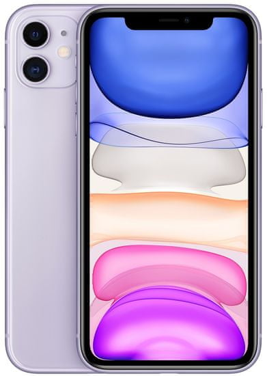 Apple iPhone 11 mobilni telefon, 64GB, vijoličen