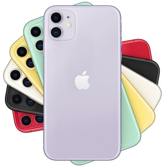 Apple iPhone 11 mobilni telefon, 128GB, vijoličen