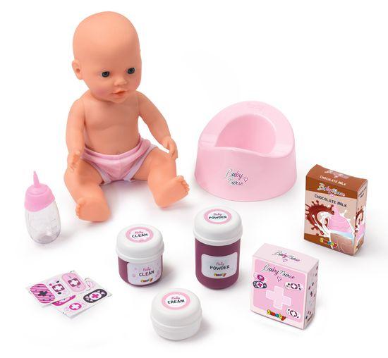 Smoby łóżeczko i przewijak Baby Nurse 2w1
