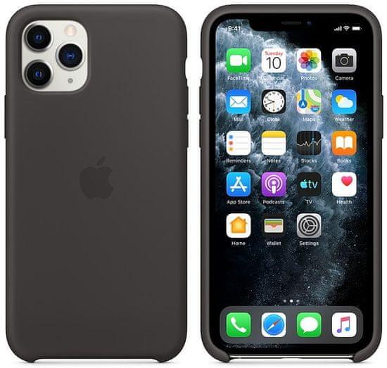Apple iPhone 11 Pro silikónový kryt, čierny MWYN2ZM/A
