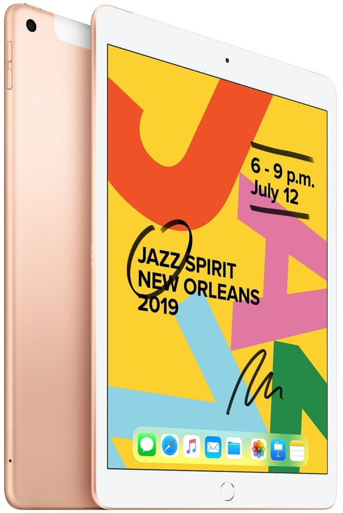 Apple iPad 2019, Cellular, 32GB, Gold (MW6D2FD/A)