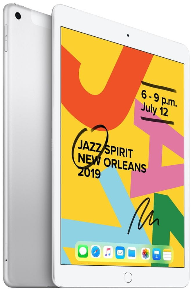 Apple iPad 2019, Cellular, 32GB, Silver (MW6C2FD/A)