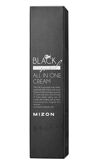 MIZON Pleťový krém s filtrátem sekretu Afrického černého hlemýždě 90% (Black Snail All In One Cream)