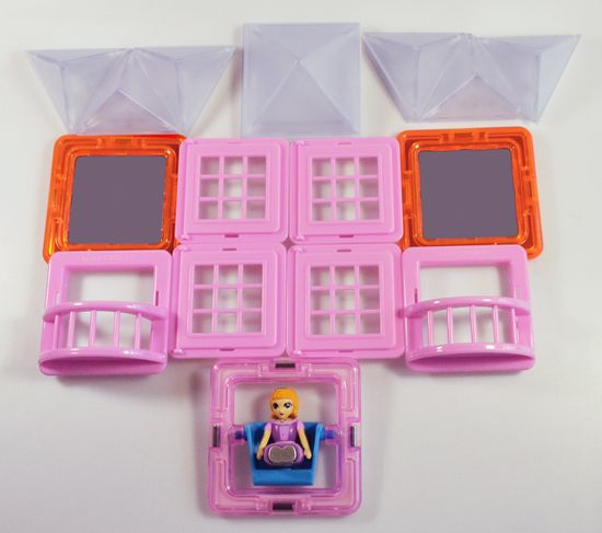 Magformers set za sestavljanje Pikant Princezna
