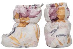 Lodger lány papucs Socker Empire Lotus 16-18 narancssárga