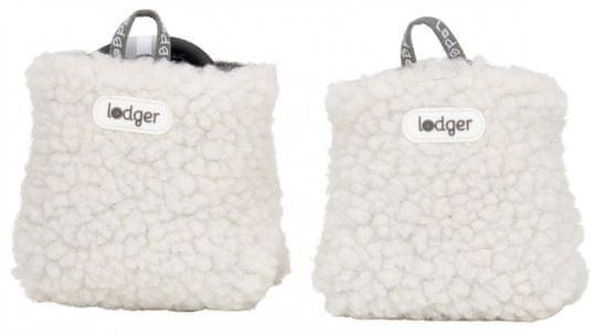 Lodger gyerek kocsicipő Slipper Teddy Off White