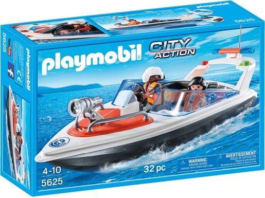 Playmobil Playmobil 5625 Záchranný člun pobřežní stráž