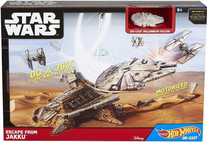 Mattel Hot Wheels Star Wars Únik z Jakku