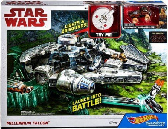 Mattel Hot Wheels Star Wars Millenium Falcon