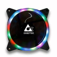 Chieftec AF-12RGB ventilator, RGB rainbow, 120mm