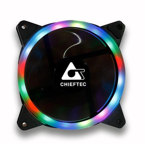Chieftec AF-12RGB ventilator, RGB rainbow, 120mm - Odprta embalaža | mimovrste=)
